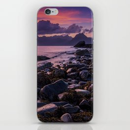 Sunset Over the Cuillin II iPhone Skin