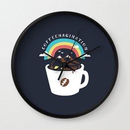 Coffeemagination Wall Clock