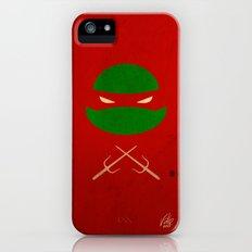 TMNT Raph poster Slim Case iPhone (5, 5s)