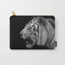 White Tiger Portrair Carry-All Pouch