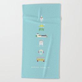 Mackinac Island Beach Towel
