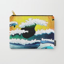 Happy sea Carry-All Pouch