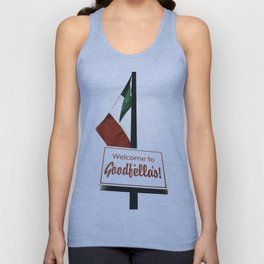 Welcome to Goodfella's! Unisex Tank Top