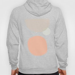 Abstraction in coral Hoody