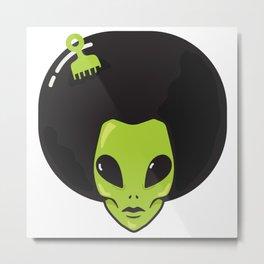 Alien Power Metal Print