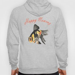 Happy Nowruz Demekin Goldfish Persian New Year Hoody