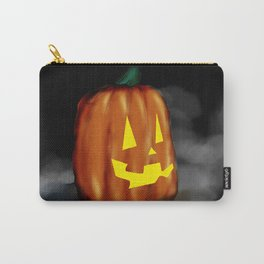 Smiling Pumpkin Carry-All Pouch