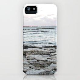 Frozen Maine Ocean iPhone Case