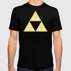 Triforce Black MEDIUM Mens Fitted Tee