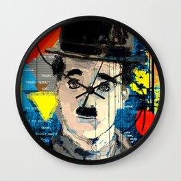 Chaplinesque Wall Clock