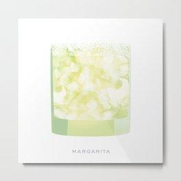 Cocktail Hour: Margarita Metal Print