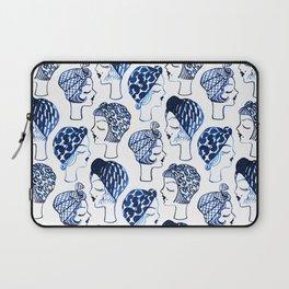 Blue Turban Girls Laptop Sleeve