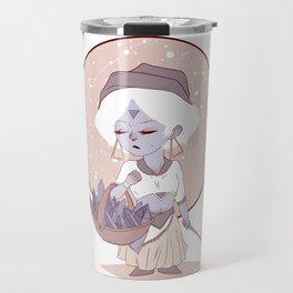 Moon child (red) Travel Mug