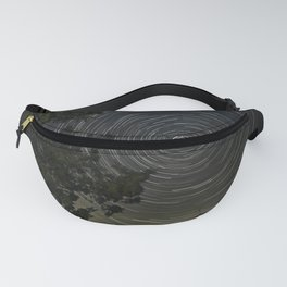 Star Trails and Evergreen Fanny Pack