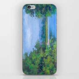 A great day for sailing iPhone Skin