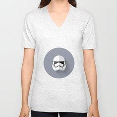 Stormtrooper 2015 Flat Design Episode VII Unisex V-Neck
