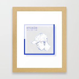 BLUEKOH Framed Art Print