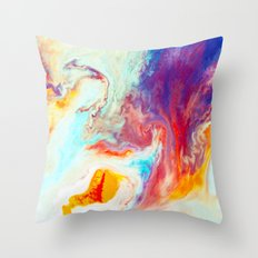Disperse Throw Pillow