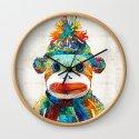 Sock Monkey Art - Your New Best Friend - By Sharon Cummings by sharoncummings