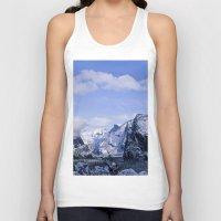 yosemite Tank Tops featuring Yosemite by Ian Bevington