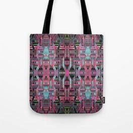Geometric Wood Pattern G404 Tote Bag