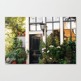 AMSTERDAM / House Entrance Canvas Print