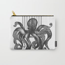 Octopus in a birdcage Carry-All Pouch