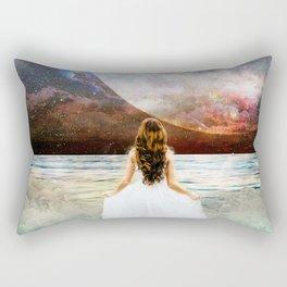 Worlds Apart Rectangular Pillow
