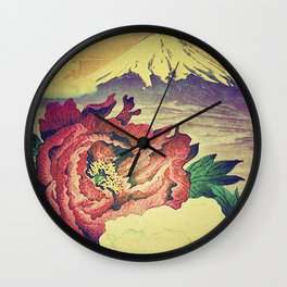 Flowering at Hamata Wall Clock