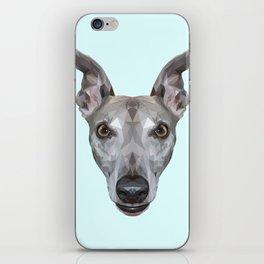 Whippet // Pastel Blue (Vespa) iPhone Skin
