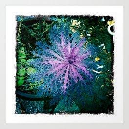 Purple!! / Violet!! Art Print
