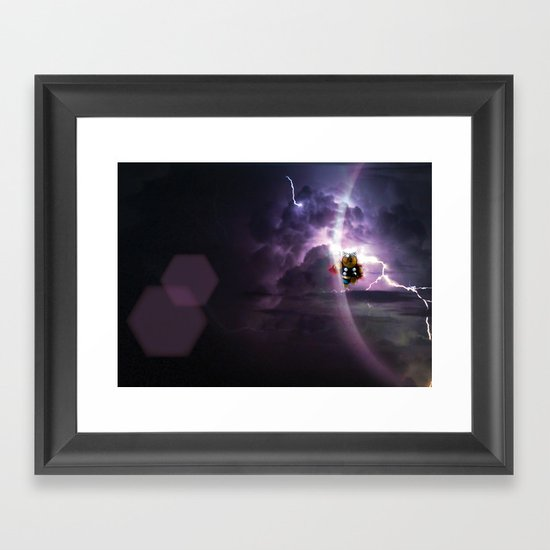 Super Bears - ACTION! the Mighty One Framed Art Print