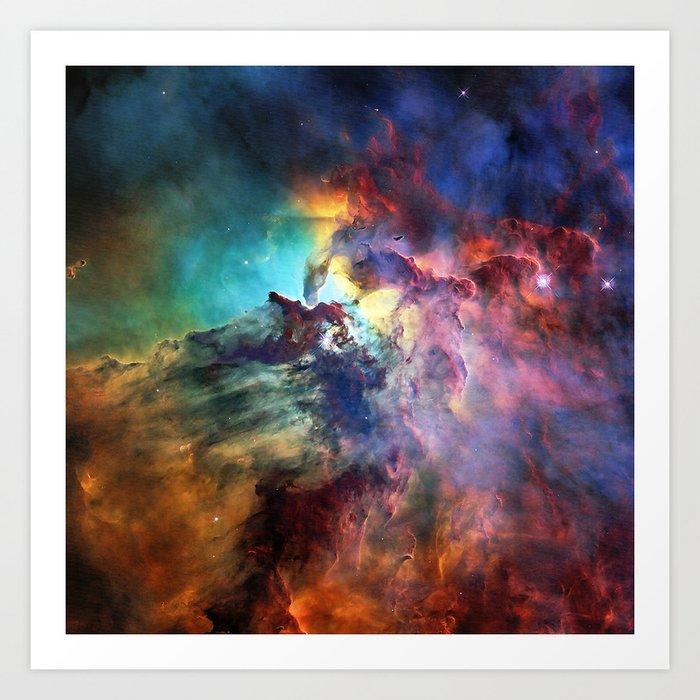 Lagoon Nebula Kunstdrucke