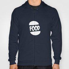 FOOD logo fun generic food logo Hoody