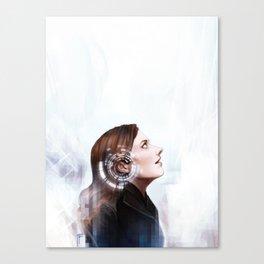 I can hear You Canvas Print