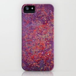 Red Moss iPhone Case