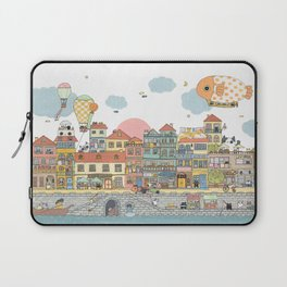 79 Cats in Harbor City Laptop Sleeve