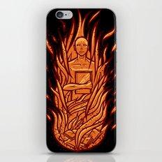 fahrenheit 451 - bradbury red variant iPhone Skin