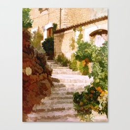 The light of Mallorca - Espana Canvas Print