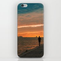 running iPhone & iPod Skins featuring Running  by jmiguel