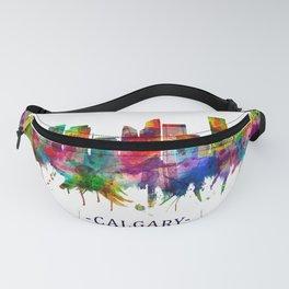 Calgary Canada Skyline Fanny Pack