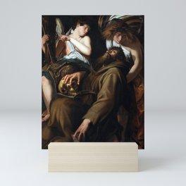 Giovanni Baglione The Ecstasy of Saint Francis Mini Art Print