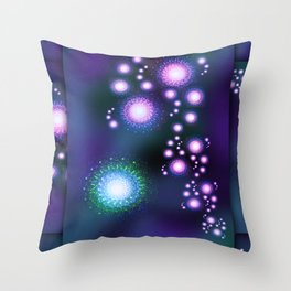 Freaky Chakras Throw Pillow