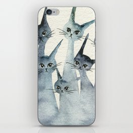 Ashland Whimsical Cats iPhone Skin