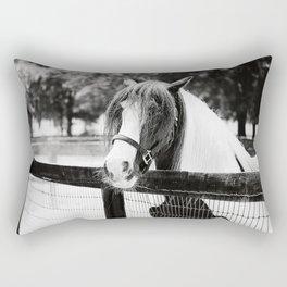 Extraordinary Black & White Rectangular Pillow