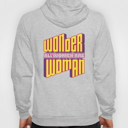 Wonderful Woman Hoody