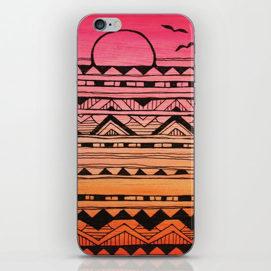 Surf Tribe iPhone & iPod Skin
