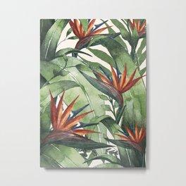 Tropical Flora I Metal Print