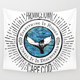 Everything is Hidden-Provincetown Wall Tapestry