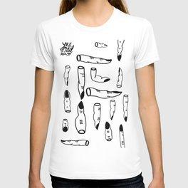 (yes) nail art T-shirt